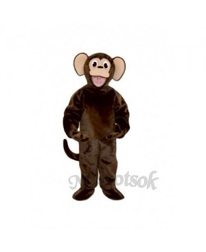 Cute Monkey Mascot Costume