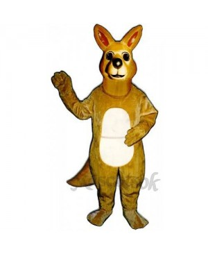 Cute Matilda Roo Kangaroo Mascot Costume