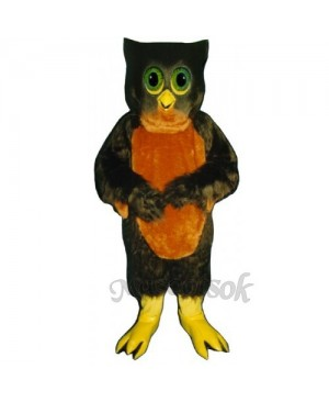 Cute Hoot Owl Mascot Costume