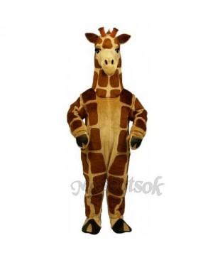 Cute Realistic Giraffe Mascot Costume