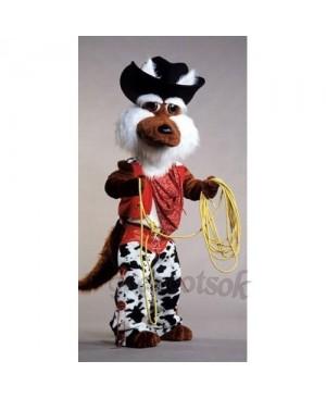 Cute Coyote Wolf Mascot Costume