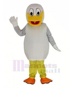 White Duck Mascot Costume Animal