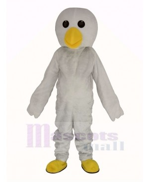 White Chick Mascot Costume