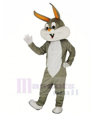 Easter Bugs Bunny Adult Mascot Costume Cartoon