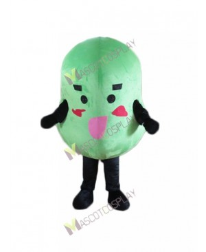 High Quality Adult Plant Bean Mung Beans Grams Mascot Costume