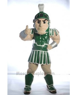 Spartan Trojan knight Sparty Mascot Costume Custom Fancy Costume Carnival Cosplay