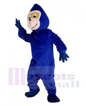 Blue Gorilla Monkey Mascot Costume Animal