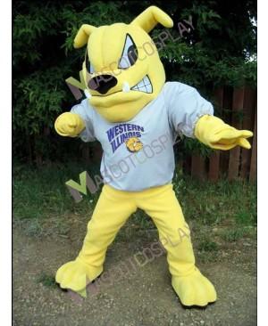 Western Illinois Leathernecks Colonel Rock Bulldog Mascot Costume