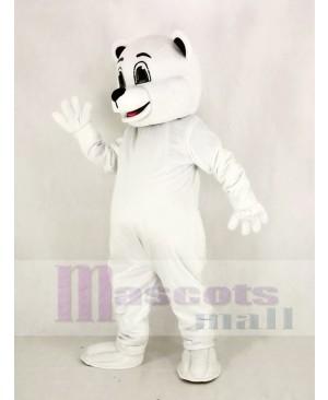 Johnnie Polar Bear Mascot Costume Animal