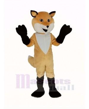 Funny Brown Fox Mascot Costume