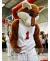 Basketball Sport Fox Mascot Costume Costume