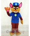Paw Patrol Chase Dog Adult Mascot Costume Fancy Suit Cosplay