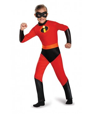 The Incredible The Fastest Dash Classic Child Kid Boys Superhero Halloween Cosplay Costume