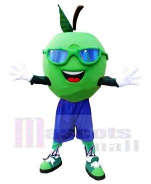 Happy Apple Mascot Costume