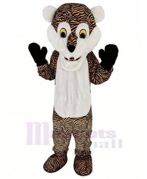 White Beard Tiger Mascot Costume Animal