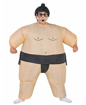 Kids Inflatable Sumo Costume Halloween Children Cosplay christmas