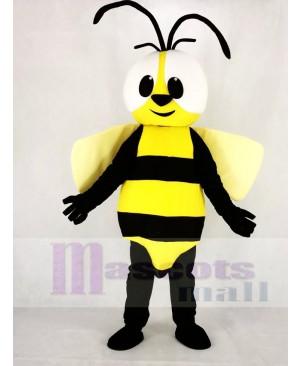 Cute Yellow Bee Mascot Costume Animal