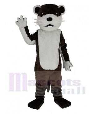 Brown Otter Mascot Costume Animal