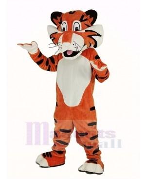 Lightweight Orange Tiger Mascot Costume Animal