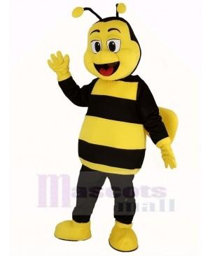 Happy Bee Mascot Costume