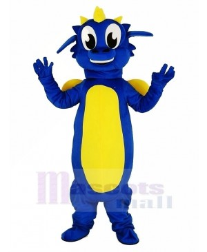 Blue Dragon Mascot Costume Animal