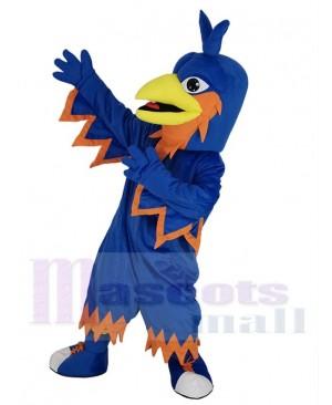 Blue Phoenix Bird Mascot Costume Animal