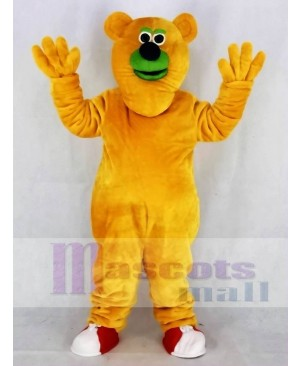Fresno Grizzlies Parker T. Orange Bear Mascot Costume