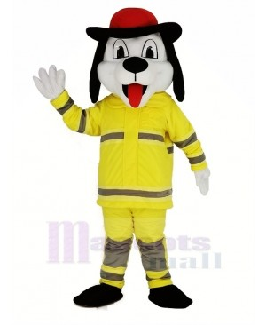 Sparky the Fire Dog Mascot Costume Animal