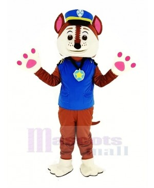 Paw Patrol Chase Police Dog Mascot Costume
