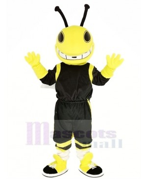 Yellow Hornets Mascot Costume Insect Animal