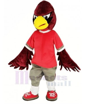 Cool Red Eagle Mascot Costume Animal