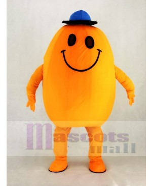 Smiling Mr Tickle Tickleer Mascot Costume