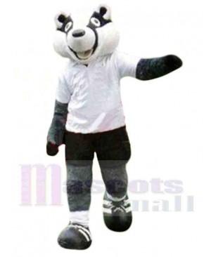 Sporty Badger Mascot Costume