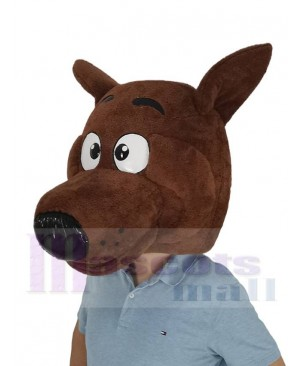 SCOOBY Dog Mascot Costume Animal Head Only