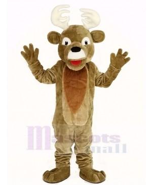 Christmas Elk Deer Mascot Costume