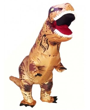 Adult/Kids Inflatable T-Rex Tyrannosaurus Costume Dinosaur Halloween Suit Cosplay Fantasy Costume